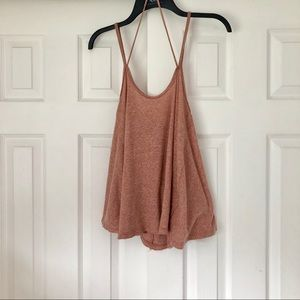 Free People So In Love With You Swing Tank Top S